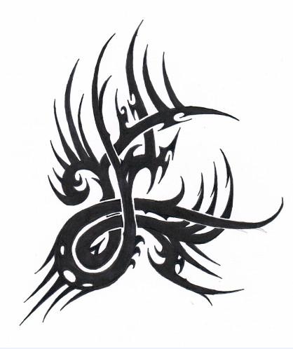 Tattoo Swirl  Design by Tribalchick101