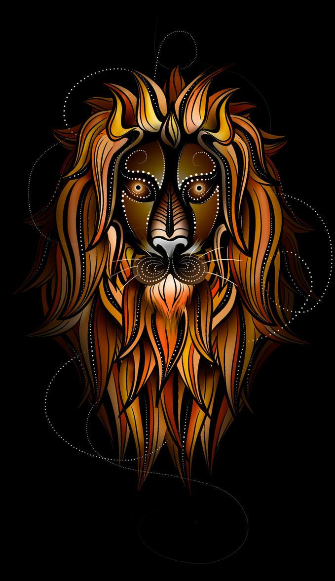 Lion Design by Tribalchick101
