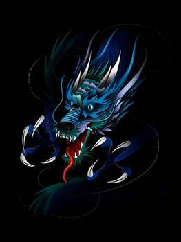 Japanese Dragon Design