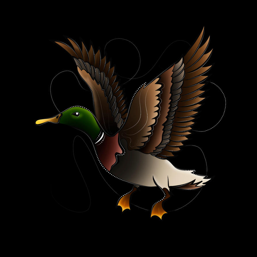 Duck Design by Tribalchick101