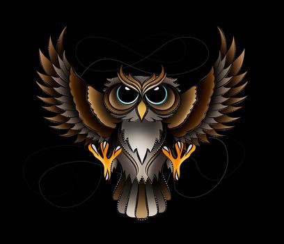 Owl Design by Tribalchick101