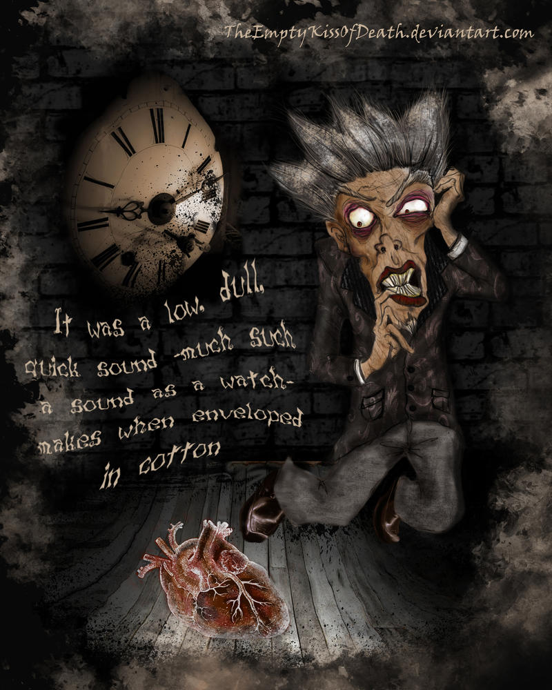 Tell Tale Heart Quotes: The Tell-tale Heart By TheEmptyKissOfDeath On DeviantArt