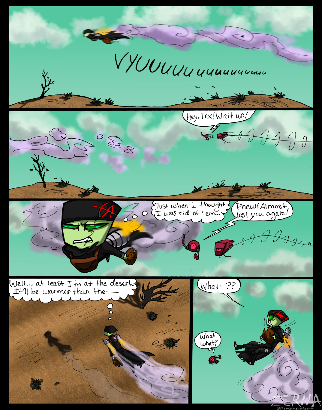 B-S Round 3 Page 1 by Zerna