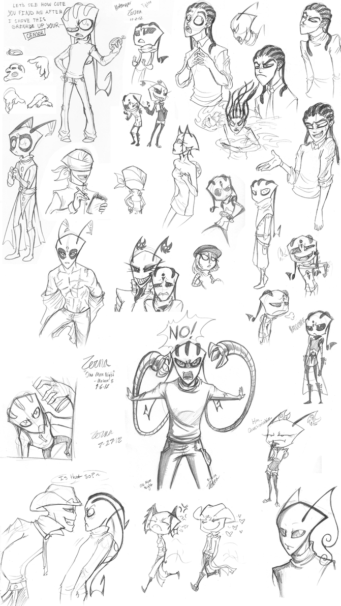 Sketch Dump--Intimidation by Zerna