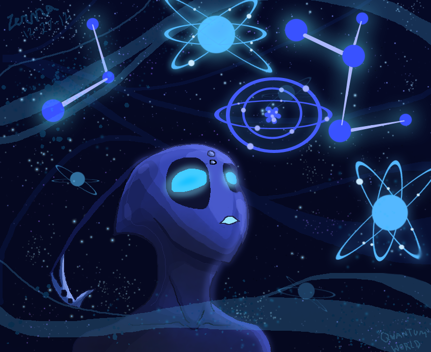The Universe Is Made Of... by Zerna