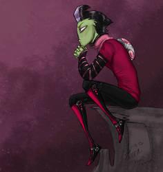 Some Kind of Alien Gargoyle by Zerna