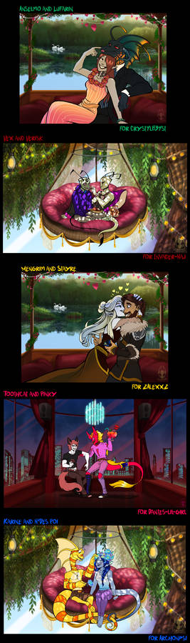Valentine Commissions (Set 2)