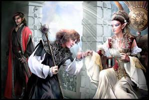 El mago y la princesa 1 by Sarima
