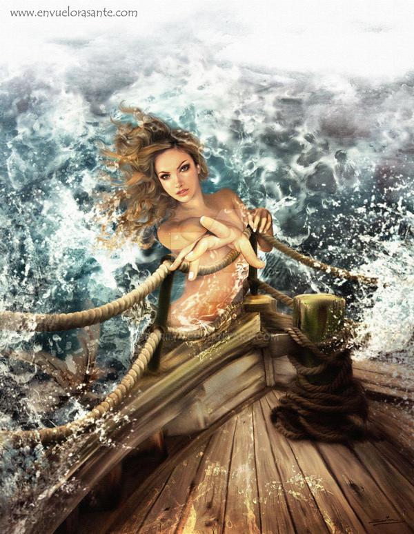 The temptation of Odysseus by Sarima