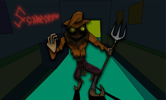 Scarecrow in the Shadows