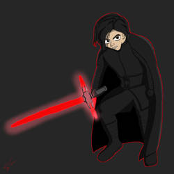 Kylo Ren by Figfire