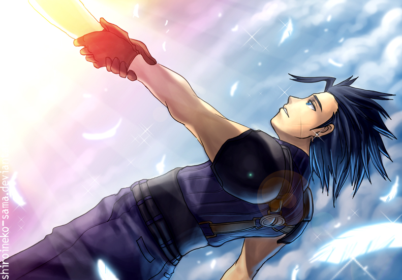 FF7CC: Hero's End -Spoilers by ShiroiNeko-sama