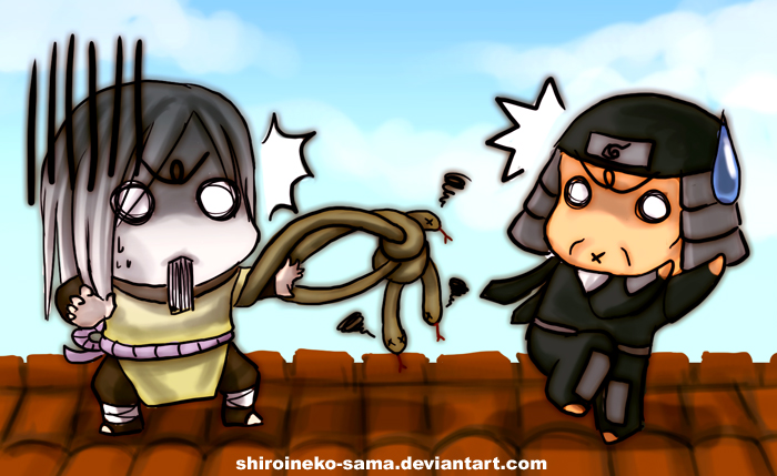 Naruto: Tangled by ShiroiNeko-sama