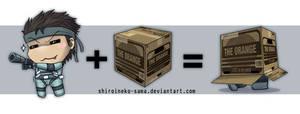 MGS: Chibi Snake + Box