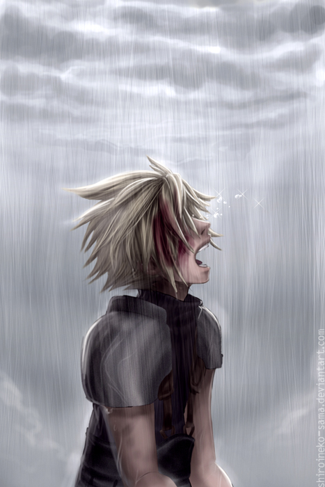FF7: When The Sky Cried by ShiroiNeko-sama