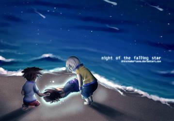 KH: Night Of The Falling Stars by ShiroiNeko-sama
