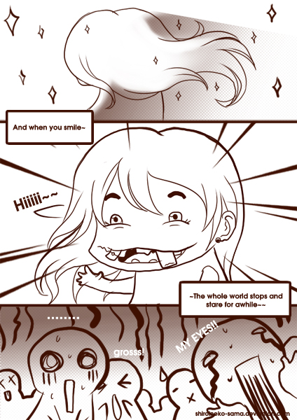 And when you smile by ShiroiNeko-sama