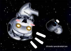 Portal 2: Spaaaaaceeeee by ShiroiNeko-sama
