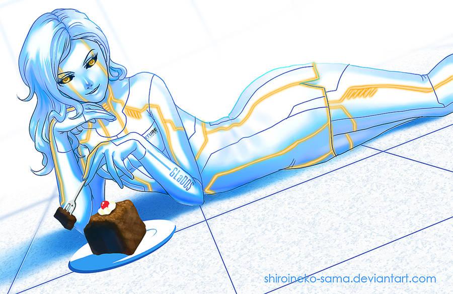 Portal: I Got Cake For You by ShiroiNeko-sama