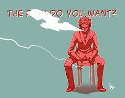 He Is Pissed by ShiroiNeko-sama