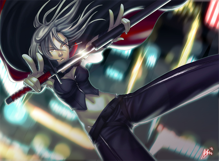 Calm and Deadly by ShiroiNeko-sama