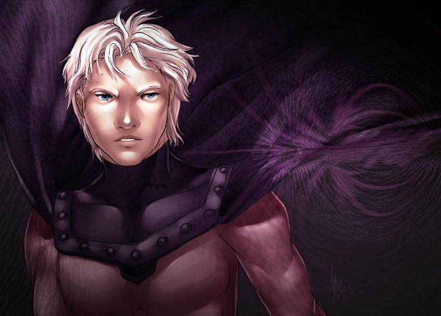 X-Men: Magnet by ShiroiNeko-sama