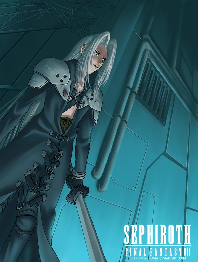 FF7:SEPHIROTH by ShiroiNeko-sama