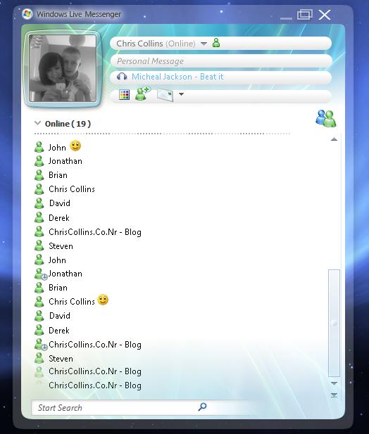 Windows Live Messenger 10? by chris-collins on DeviantArt