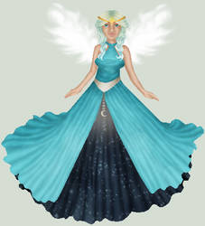 Sky Goddess by ClericalRodent
