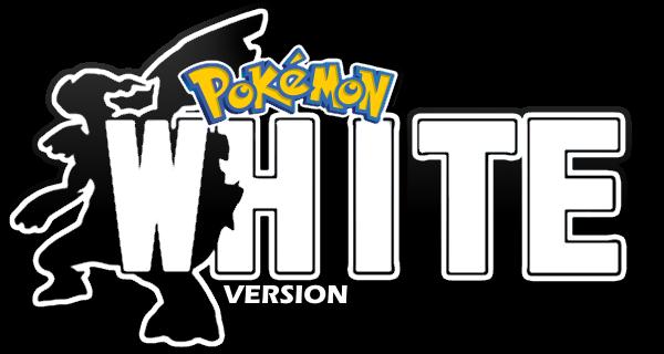 Pokemon White Logo