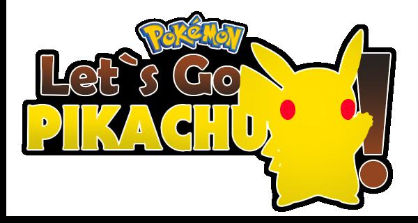 Pokemon Let's Go Pikachu! Logo