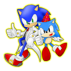 Sonic 20th Anniversary by Baitong9194