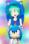 Miku and Classic Sonic