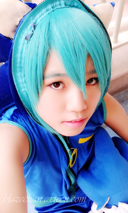 [Cosplay] Hatsune Miku (Sonic Style) 2 by Baitong9194