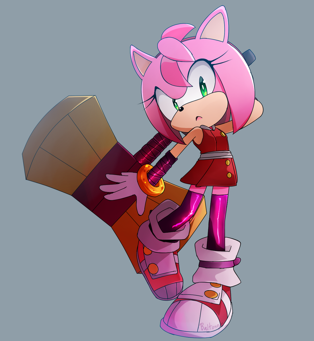 Amy -Sonic Boom- by Baitong9194 on DeviantArt Sonic Boom Amy