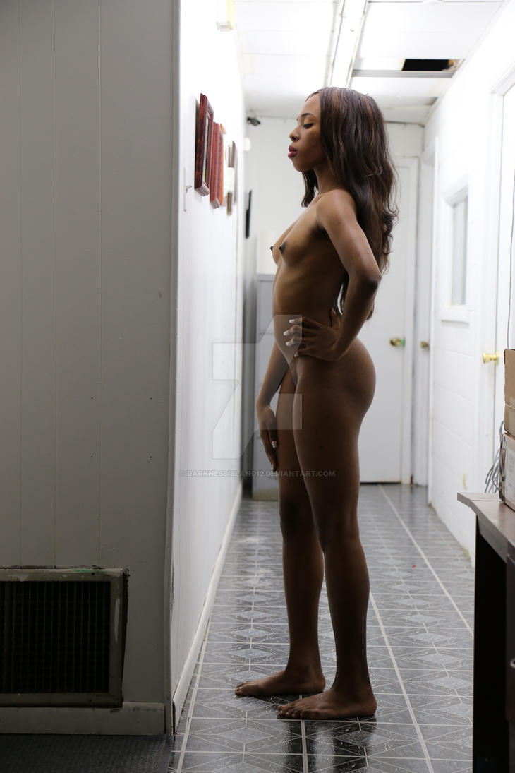 Standing Nude 6 by DarknessIsland12