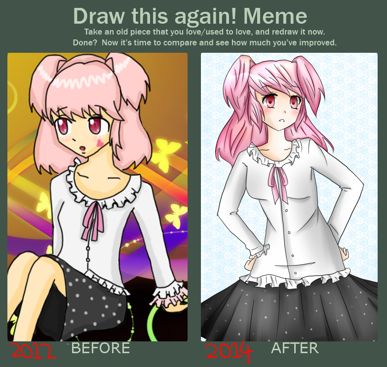 Draw This Again Meme by MegumiHeart