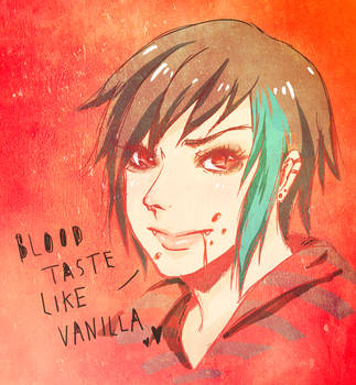 Blood Taste Like Vanilla by ong-zo-za on DeviantArt