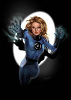 Invisible Woman by Ultrajack