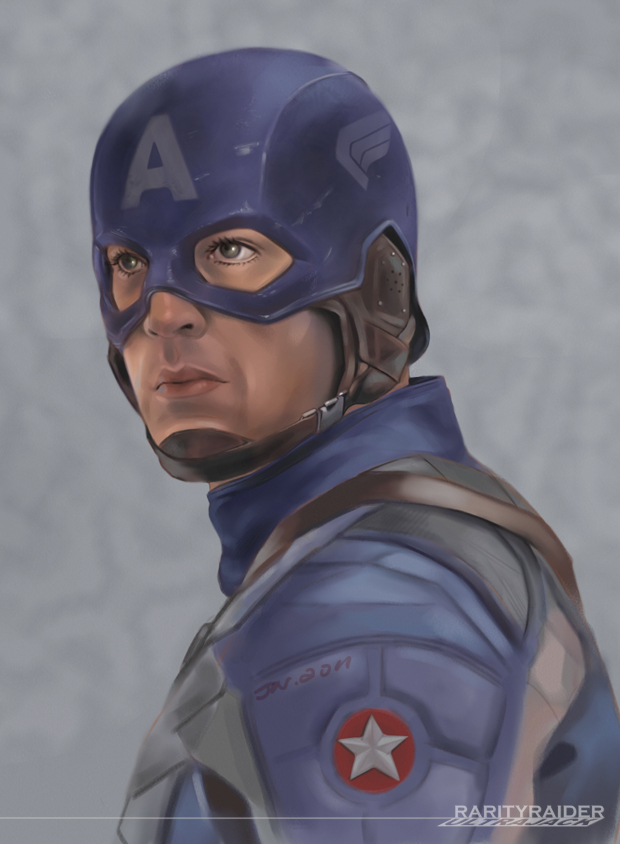 Captain America by Ultrajack