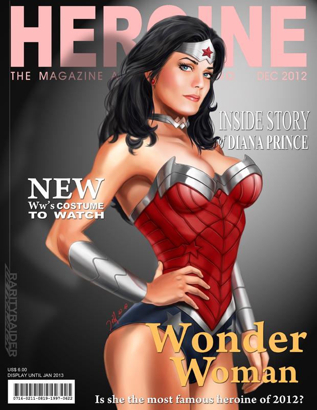 Wonder Woman Magazine Cover by Ultrajack