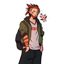 Red XIII Human Version