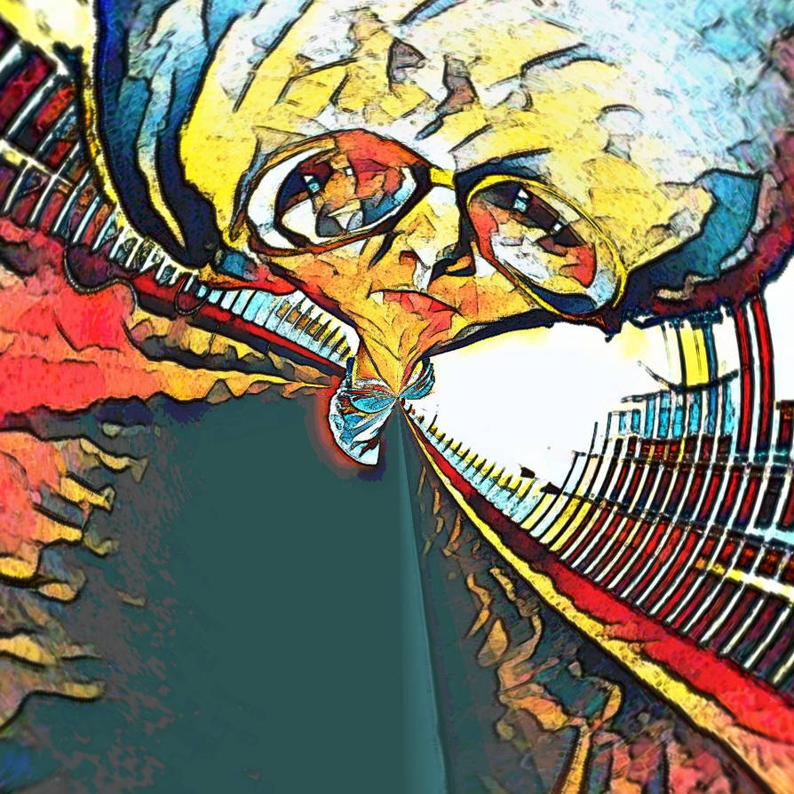 Self portrait by OnyxFlame