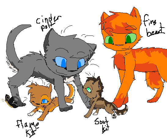 Warrior Cats Scourge And Sandstorm Mating