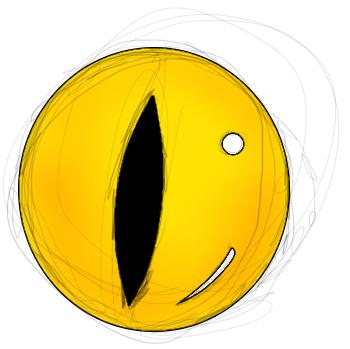 Its an eye by ZombeiKid