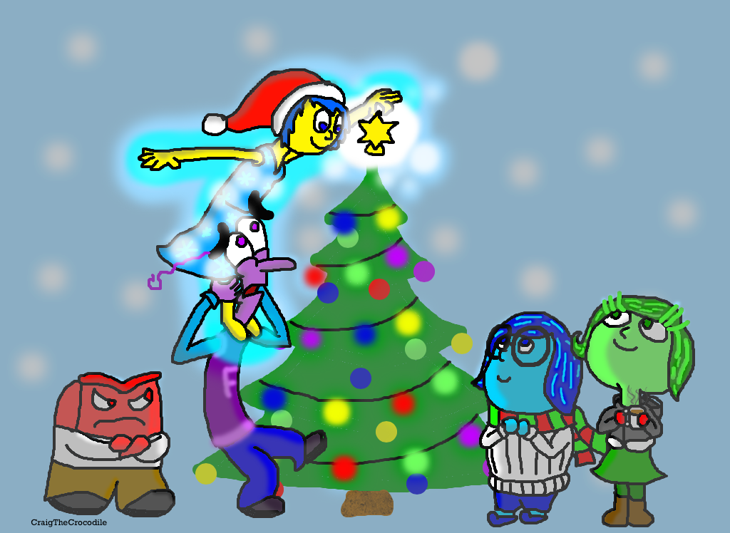 An Inside Out Christmas (2.0) by CraigTheCrocodile on DeviantArt