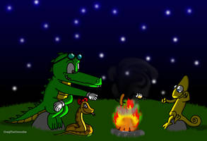 Camping Out by CraigTheCrocodile