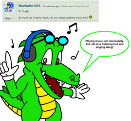 Ask Craig and Friends #3 by CraigTheCrocodile