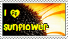 ...sunflover stamp... by sophie12345