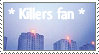 Killers fan- stamp by sophie12345